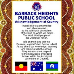 acknowledgement of country signs