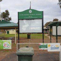 Eumungerie Public School Changeable Sign