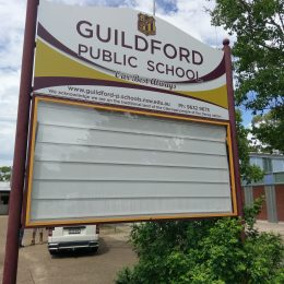Guilford Public School Changeable Sign