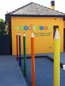 3d Pencils at Woodgreen Early Learning Centre