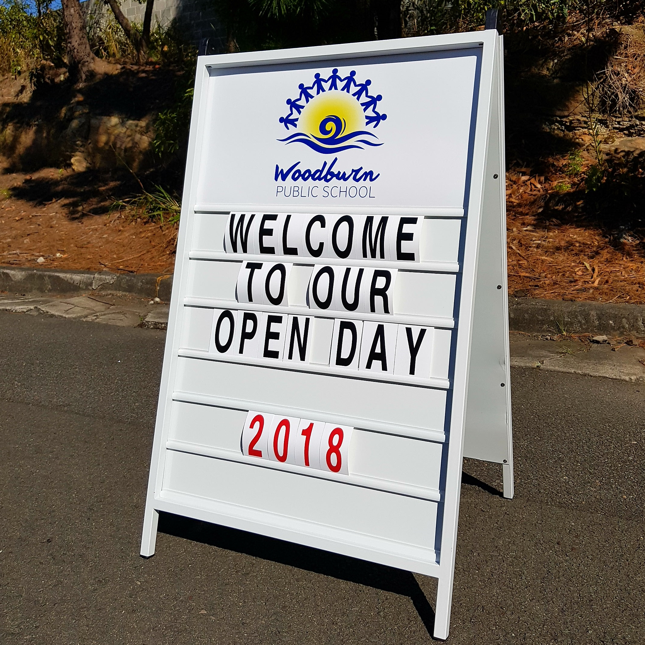 SIDE Talkers - Changeable A-Frame Signs - Signs by Signpac