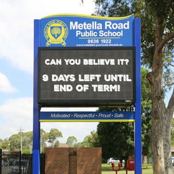 School Signage Ideas For Boosting Student Morale