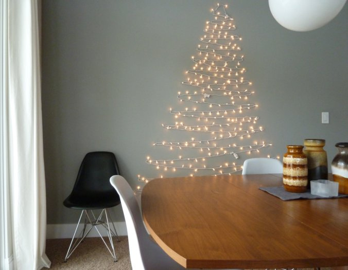 Fairy Light Christmas Tree Signs By Signpac
