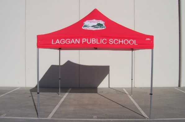 school swimming carnival popup tents