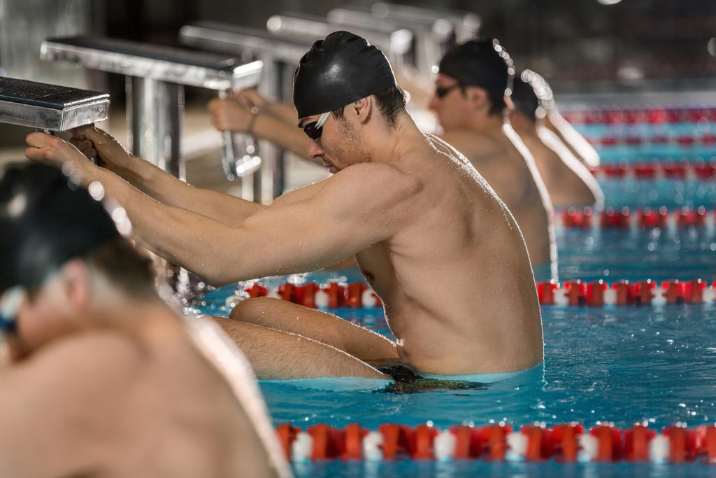 school swimming carnival charity race teachers and parents