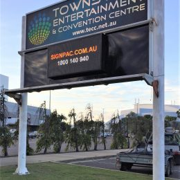 Townsville Entertainment Convention Centre Digital Sign
