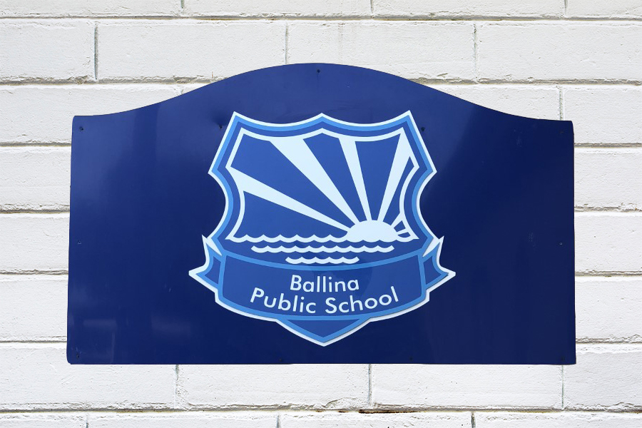 Ballina Public School Cut-Out Crests