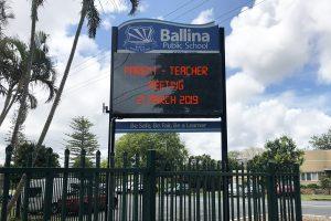 Ballina Public School Digital Sign